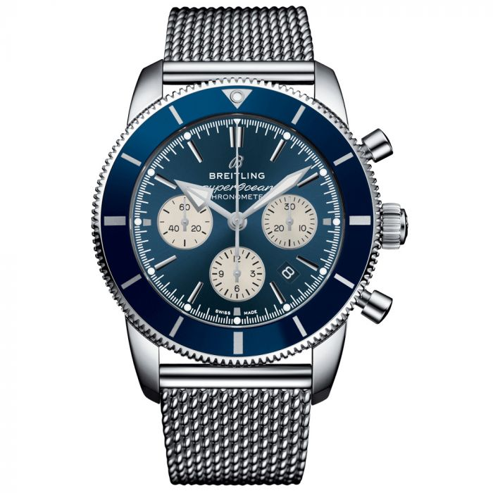 Breitling Gents Superocean Heritage II B01 Chronograph 44mm Automatic Watch AB0162161C1A1
