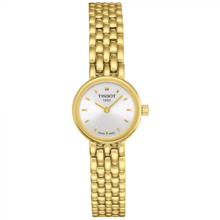 Tissot T-Lady Lovely Gold PVD Watch T0580093303100