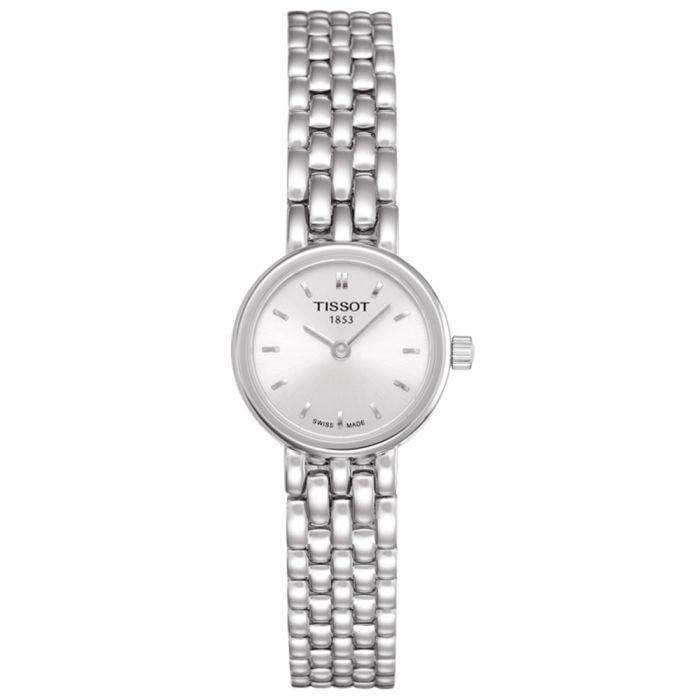 Tissot T-Lady Lovely Stainless Steel Silver Dial Watch T0580091103100