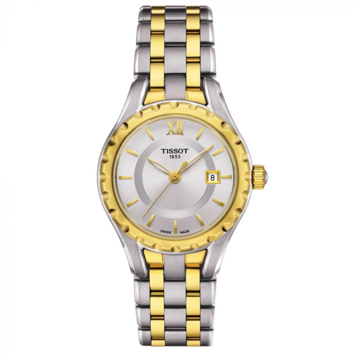 Tissot T-Lady Small Lady Steel & Gold PVD Silver Dial Watch T0720102203800 SPECIAL