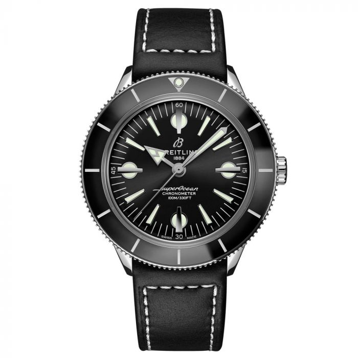 Breitling Gents Superocean Heritage 57 Capsule Collection 42mm Stainless Steel Watch A10370121B1X1