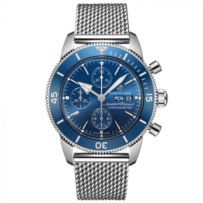 Breitling Gents Superocean Heritage II Chronograph 44mm Watch A13313161C1A1