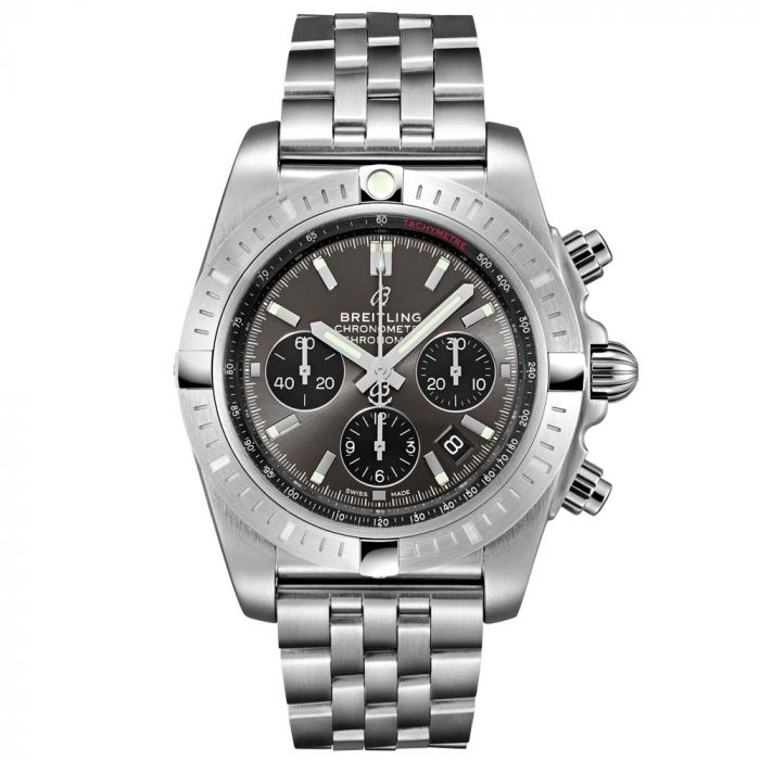 Breitling Gents Chronomat B01 Chronograph Stainless Steel Watch AB0115101F1A1 SPECIAL