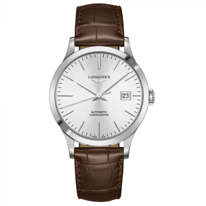 Longines Gents Record Collection Stainless Steel Automatic Watch L28214722