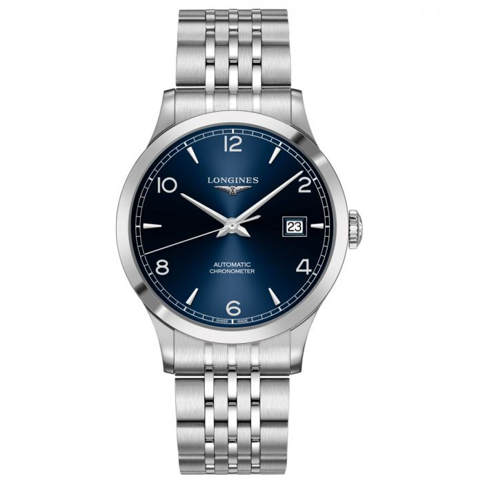 Longines Gents Record Collection Stainless Steel Automatic Watch L28214966