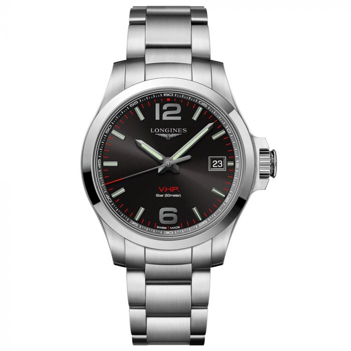 Longines Gents Conquest VHP Stainless Steel Watch L37164566