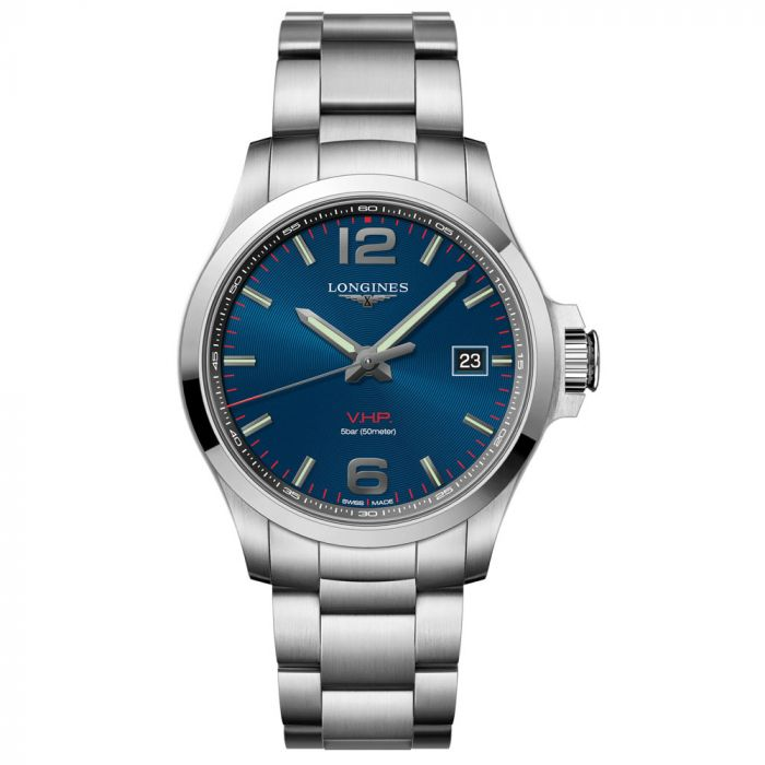 Longines Gents Conquest VHP Stainless Steel Watch L37264966