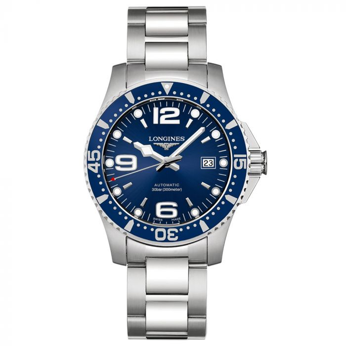 Longines Gents Stainless Steel HydroConquest 41mm Blue Dial Watch L37424966