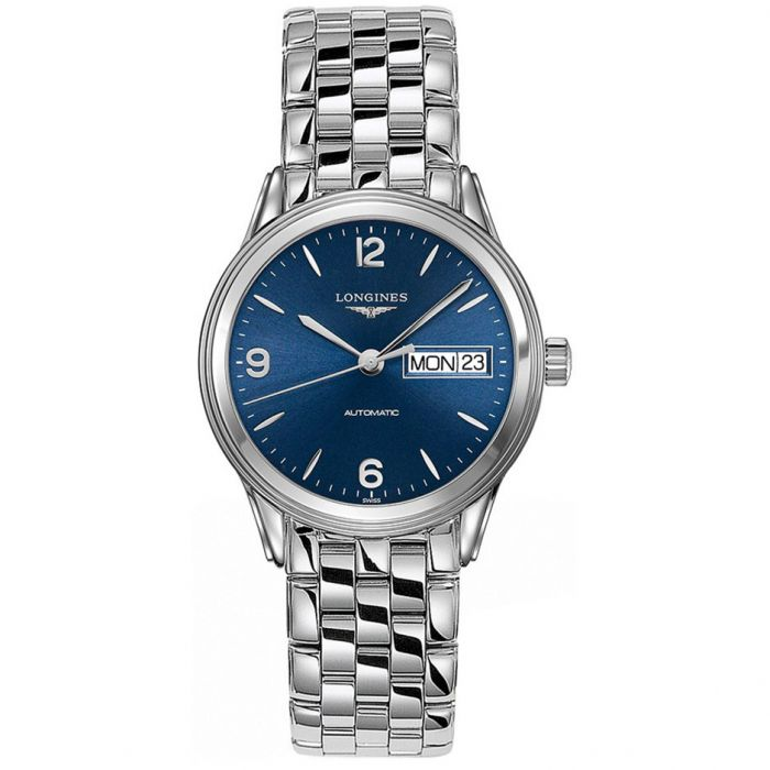 Longines Gents Flagship 36mm Stainless Steel Day Date Automatic Watch L47994966
