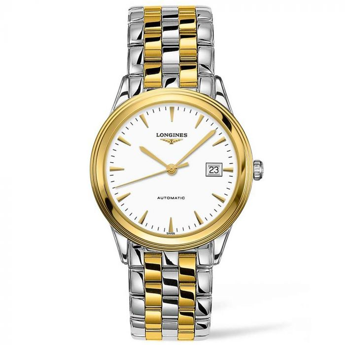 Longines Flagship Steel and Yellow Gold PVD Automatic Gents Watch L49743227