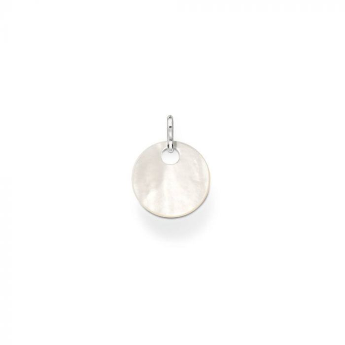 Thomas Sabo Small Mother Of Pearl Disc Pendant PE428-029-14 SPECIAL