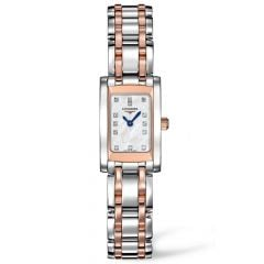 Longines Ladies Dolcevita Steel And Rose Gold Watch L51585887 SPECIAL
