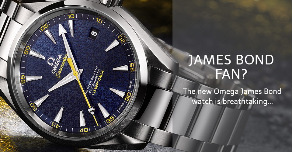 Omega Seamaster Aqua Terra James Bond Spectre Watch