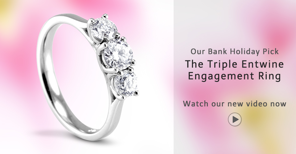 The Triple Entwine Engagement Ring Robert Gatward Jewellers