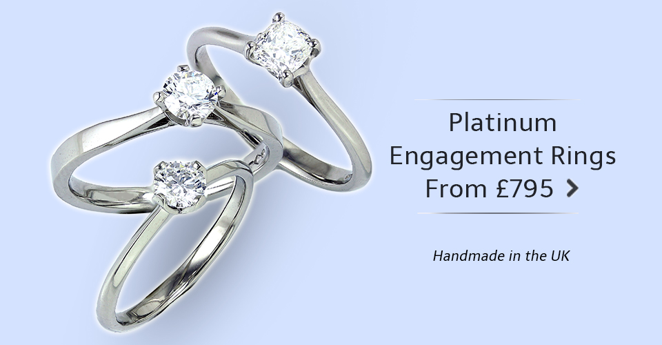 Great Value Platinum Engagement Rings