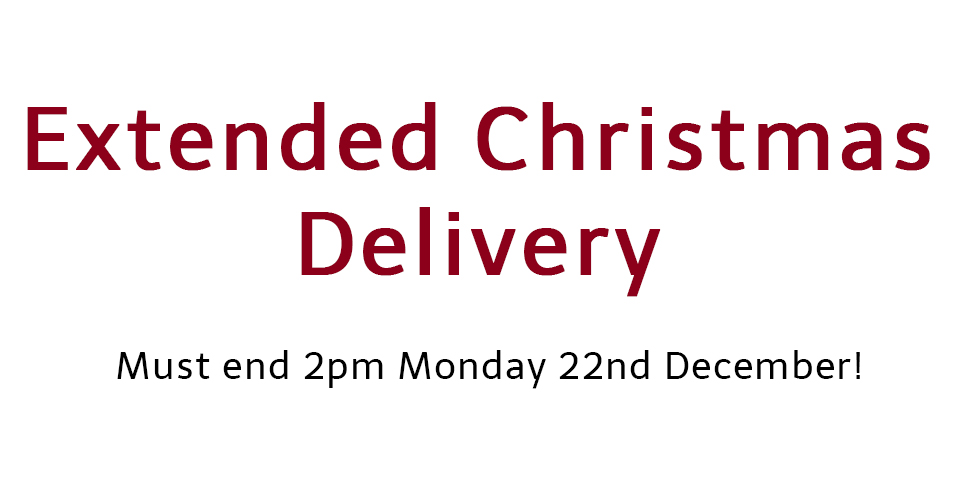 Extended Christmas Delivery