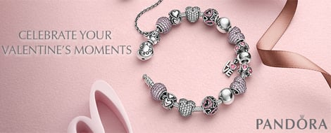Pandora Valentines Collection 2015