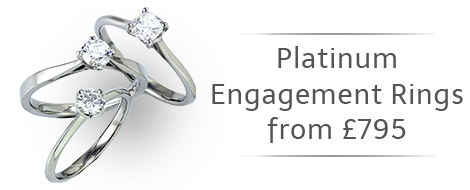 Platinum Engagement Rings from £795