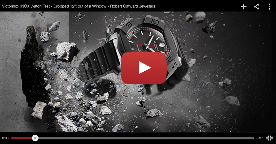 Victorinox INOX Watch Test Video